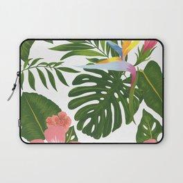 Jungle Floral Print Laptop Sleeve