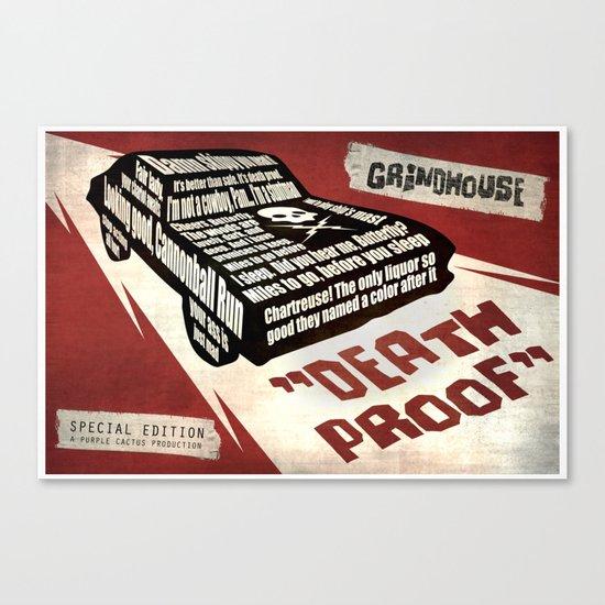 Deathproof redux Canvas Print