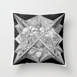 Seed #7 Throw Pillow