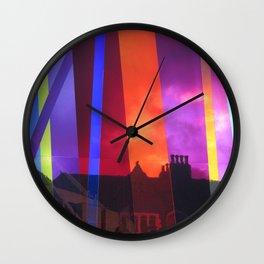 Liverpool Rainbow Wall Clock