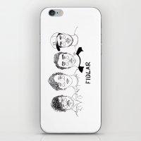 cactei iPhone & iPod Skins featuring Fidlar by ☿ cactei ☿