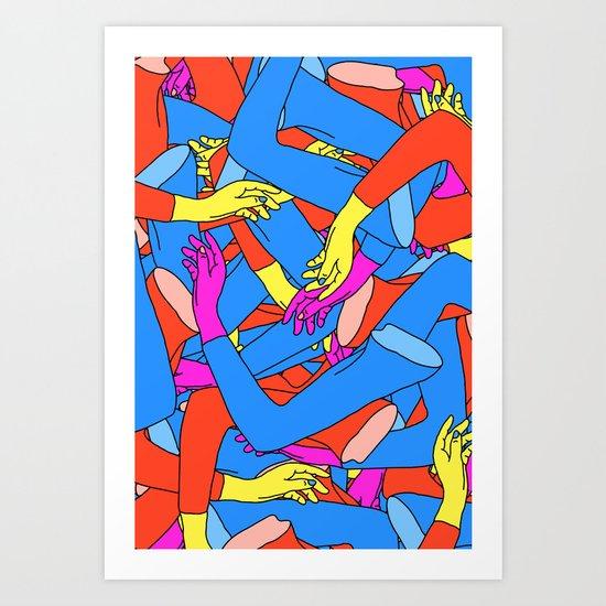 Transferral Race Art Print