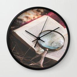 learn + explore. Wall Clock