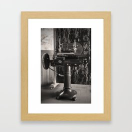 Wine in Chianti Framed Art Print