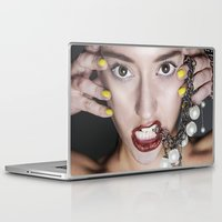 contact Laptop & iPad Skins featuring Contact by MCGRORY