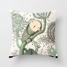 My Green Memory Throw Pillow