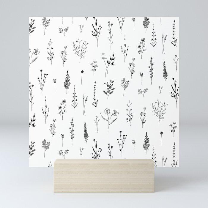 Wildflowers Mini Art Print