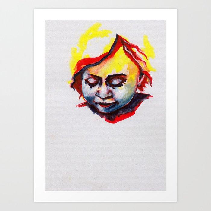 Petites têtes 20 Art Print