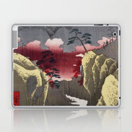 Hiroshige - 36 Views of Mount Fuji (1858) - 32: Dog Eye Pass in Kai Province Laptop & iPad Skin