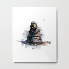 Sorting Hat Metal Print