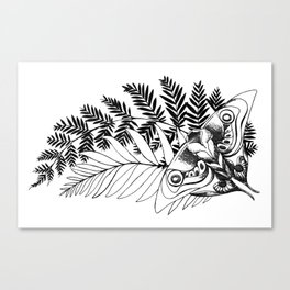 Ellie's Tattoo Canvas Print