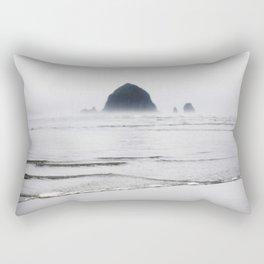 Haystack Rock Rectangular Pillow