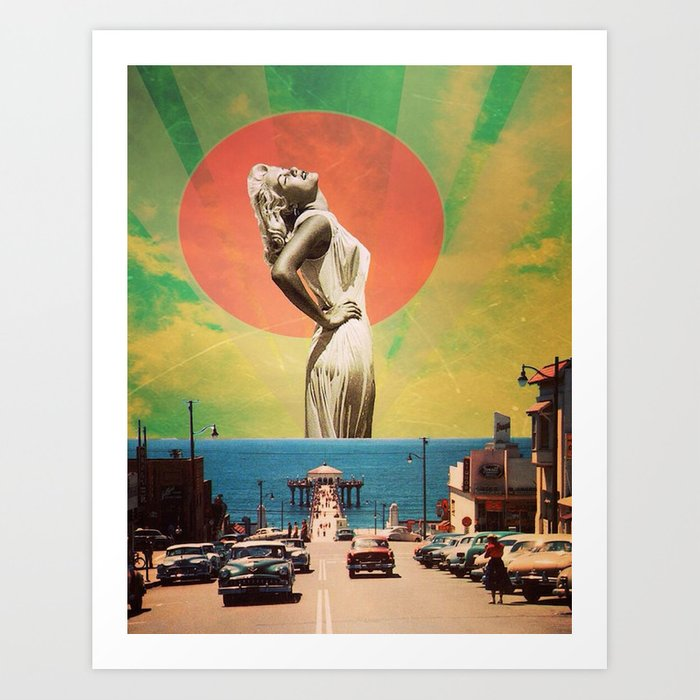 West Coast Vibe Art Print