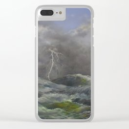 Storm Warnings Clear iPhone Case