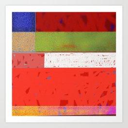 Downe Burns - Life Trip 7 -P3 Art Print