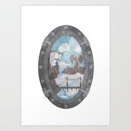 Ascension ! Art Print