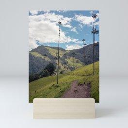 Wax Palms of Cocora Valley on film Mini Art Print
