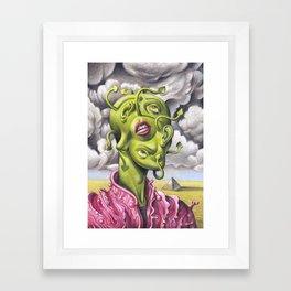 The Incredible Mr. Wlox Framed Art Print