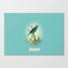Songbird {Jade} Canvas Print