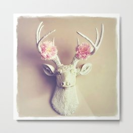 What a Deer Metal Print