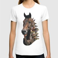 seahorse T-shirts featuring Seahorse by Lerson