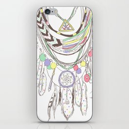 Tribal Necklace iPhone Skin