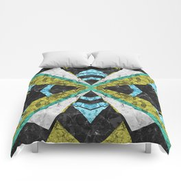 Marble Geometric Background G442 Comforters