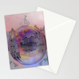 All bubbles are magical Stationery Cards