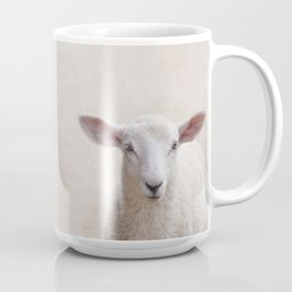Lamb Portrait Coffee Mug