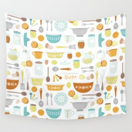 Citrus Kitchen Wall Tapestry