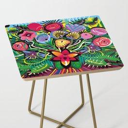 Jungle Foliage Side Table