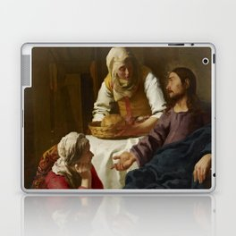 """Johannes Vermeer """"Christ in the House of Martha and Mary"""" Laptop & iPad Skin"""