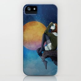 Lost -in Thoughts iPhone Case
