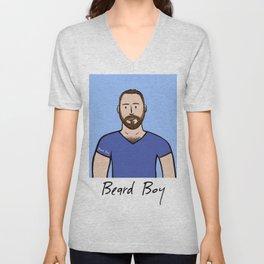 Beard Boy: Matthias Unisex V-Neck