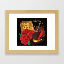 vices & virtues Framed Art Print