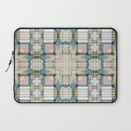 Multi Tiled Pastel Pattern Abstract Laptop Sleeve