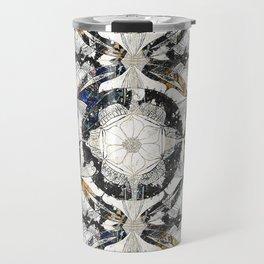 Cosmic Mandala Pattern Travel Mug