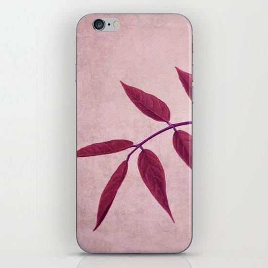 carmine iPhone & iPod Skin