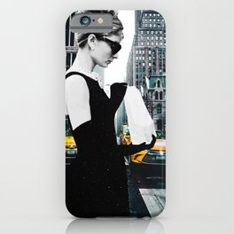 """Photo Montage """"Audrey in The City"""" iPhone Case"""