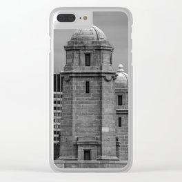 Salt and Pepper Clear iPhone Case