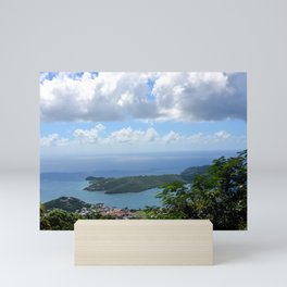 Over the Clouds in St Thomas Mini Art Print