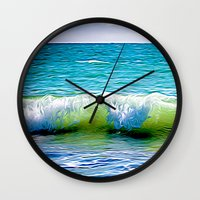 sublime Wall Clocks featuring SubLime by kitaSaurus