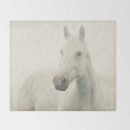Dreamy Horse Photo Throw Blanket
