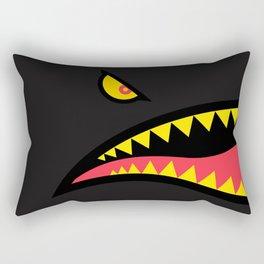 Fighter Shark - Variant Rectangular Pillow