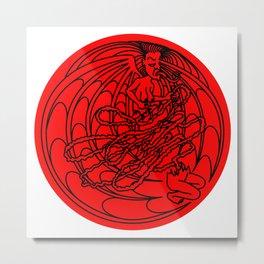 Manananggal Metal Print