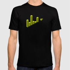 The LATERAL THINKING Project - Movimiento Mens Fitted Tee Black MEDIUM