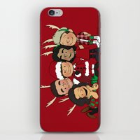 liam payne iPhone & iPod Skins featuring It's Christmas, Liam Payne by Ashley R. Guillory