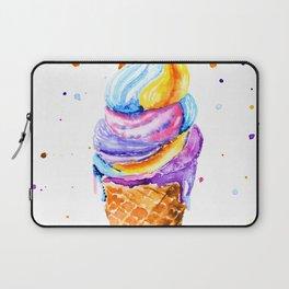 ice cream. Laptop Sleeve