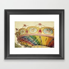 Fly So High Framed Art Print