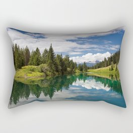 Valley of the Five Lakes Rectangular Pillow